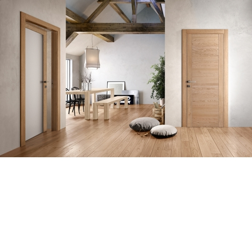 Modern Door Sets with Parquet